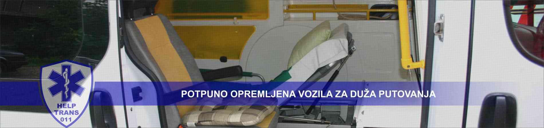 Sanitetski prevoz | prevoz pacijenata - Help Trans 011